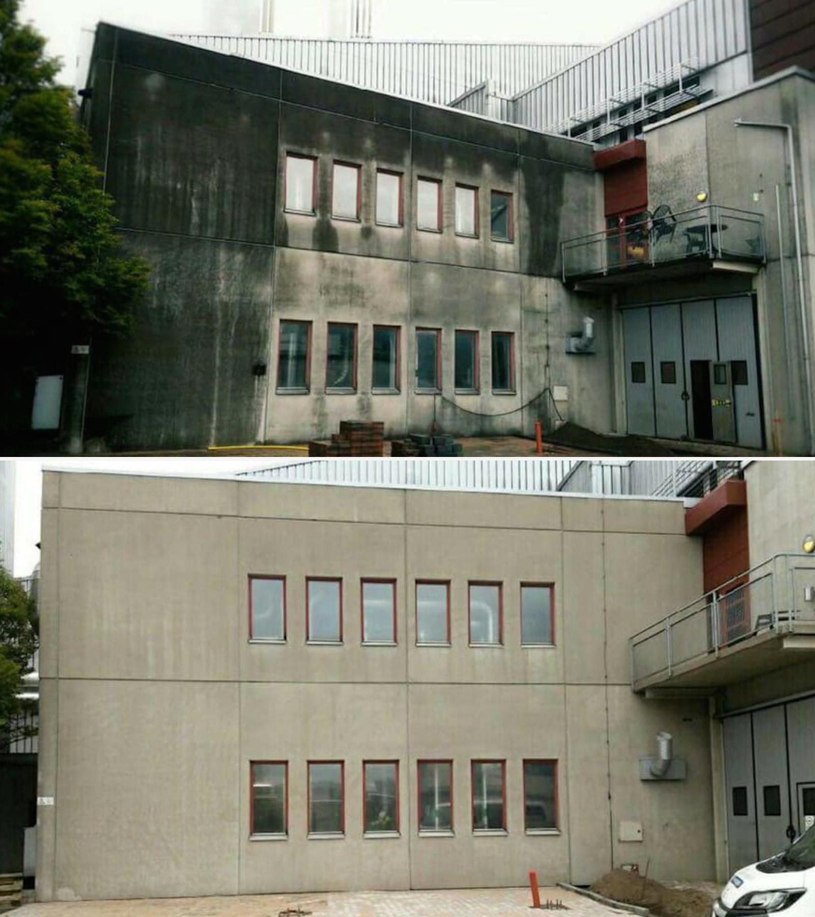 BIOforte GmbH Fassaden Schutz und Reinigung