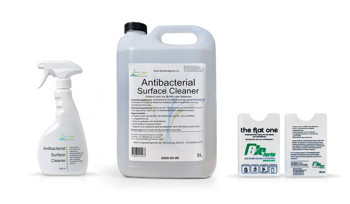 BioForte Factsheet Desinfektionsmittel Interlaken Schweiz Deutschland