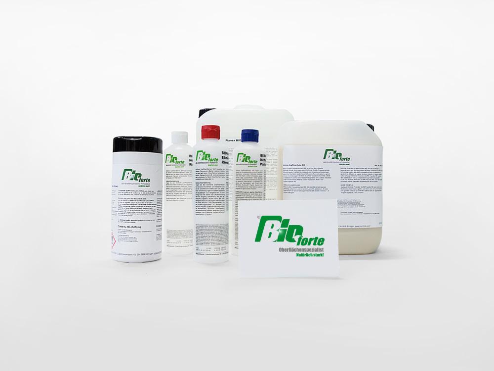 BIOforte GmbH Graffiti Entfernung Produkte
